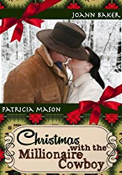 Christmas with the Millionaire Cowboy (BBW Western Holiday Romance) (Stepbrother Romance)
