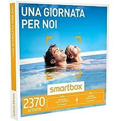 Idea Regalo - smartbox - Cofanetto Regalo - Una Giornata per Noi - 2370 esperienze tra attività di Gusto, Benessere o Svago