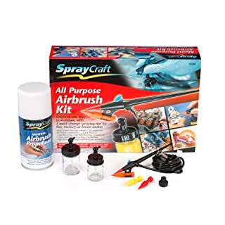 Spraycraft All Purpose Airbrush Kit