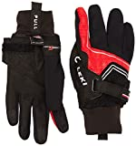 LEKI Handschuhe Nordic Thermo Shark, Black-Red-Silver, 7