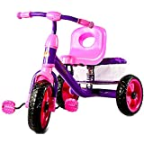 GoodLuck Baybee - Children Plug And Play Omnislash Tricycle Kid's For 2-4 Years Baby Trike Ride On Outdoor | Suitable For Babies,Boys & Girls -(Pink)