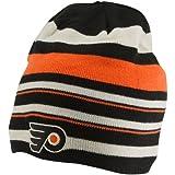 Reebok NHL Philadelphia Flyers Orange/Schwarz 2012Wnter Classic Player Wendbar Uncuffed Knit Beanie