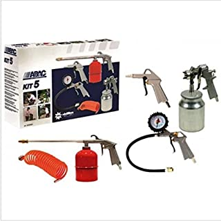 Compressed Air Indus.Iberia. (ABAC) Kit-5–Airbrush Compressor Prof Kit-5Kit 5PZ ABAC Pack of 5