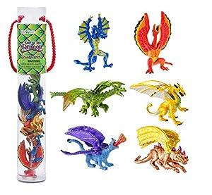 Safari Designer Plastic Miniatures In Toobs-Lair of The Dragon #1
