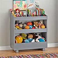 Colourful Wood Sling Book Display Storage Rack Wooden Standing Bookcase Home Furniture Storage Bookshelf Storage For Kids