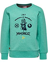 Lego Wear Boy Ninjago Saxton 302-Sweatshirt, Sweat-Shirt Garçon