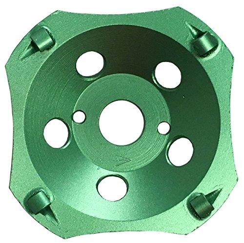 PRODIAMANT Premium PKD Diamant-Schleiftopf 125 / 22,2 4 Segmente grün PDX829.793