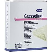 GRASSOLIND Salbenkompressen 10x10 cm steril 50 St Kompressen preisvergleich bei billige-tabletten.eu