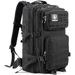 35L taktischer Rucksack, Barbarians Molle Tasche Militärischer Assault Rucksack für Outdoor Wandern Camping