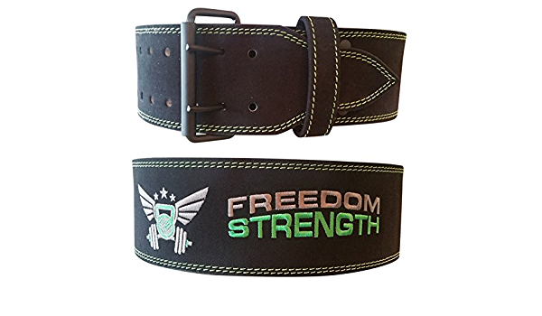 FreedomStrength Womens Power Lifting Weight Lifting Belt IPF