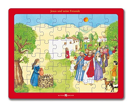 Jesus und seine Freunde: Bibel-Puzzle
