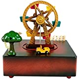 Curtis Toys Paradise Wheel Musical Wind Up Box Gift