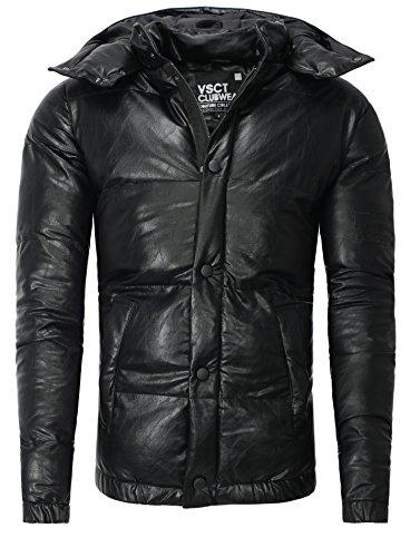 Veste d'hiver Homme VSCT Hommes Noir Mince Fit Noir