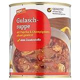 Tegut Gulaschsuppe mit Paprika und Champignons pikant gewürst, 800 g