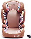 i-Safe Carseat Kid/Toddler Fix ISOfix Group 2-3 - Flowers From 15-36kg iSafe