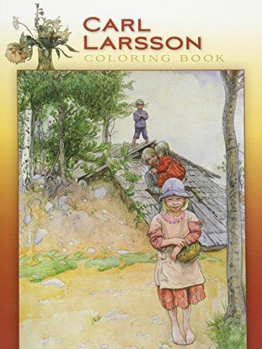 Carl Larsson Coloring Book Cb117