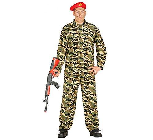 Fiestas Guirca Soldat Tarnung (Einfachste Kostüm)