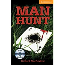 CER4: Man Hunt Level 4 Intermediate with Audio CDs  Pack (Cambridge English Readers)