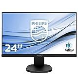 Philips 243S7EHMB/00 60 cm (23,8 Zoll) Monitor (VGA, HDMI, 5ms Reaktionszeit, 1920 x 1080, 60 Hz) Schwarz