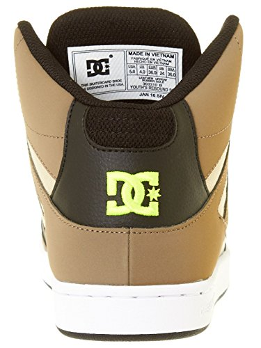 DC Shoes  Rebound, Sneakers Basses Fille Olive