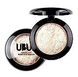 Yogogo Einzelner Gebackener Augen Schatten Puder Make-Up Paletten Schimmer Metallische Augenschminke Palette 03