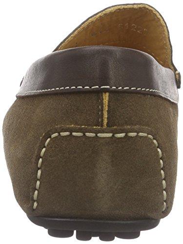 Florsheim COMET, Mocassins (loafers) homme Beige - Beige (MUD SUEDE/DK BRN CALF 14)