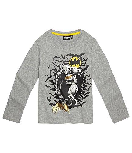 Batman ragazzi maglietta maniche lunghe - grigio - 128