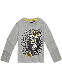 Batman Jungen Langarmshirt 2016 Kollektion - grau