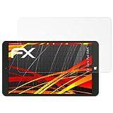 atFolix Schutzfolie kompatibel mit Xoro Pad 8W4 Bildschirmschutzfolie, HD-Entspiegelung FX Folie (2X)