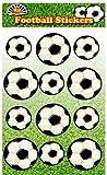 60 Football Stickers (5 strips x 12 stickers)
