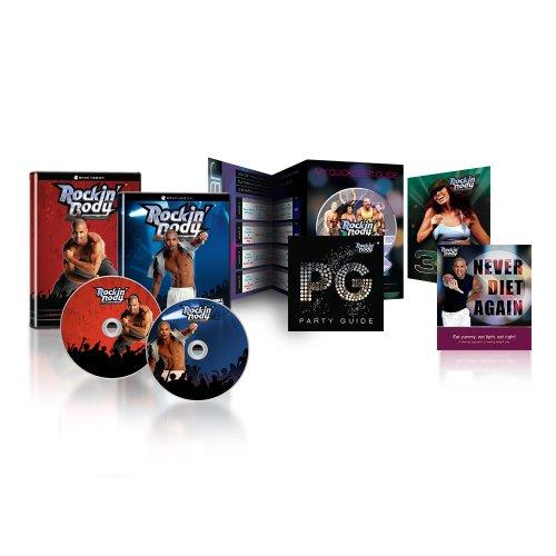 Preisvergleich Produktbild Shaun Ts Rockin Body Workout Programm - 7 workouts auf 2 DVDs mit Ernährungsplan
