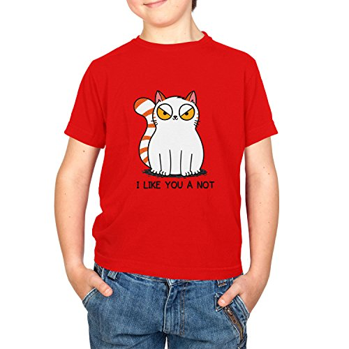 Texlab Like You a Not - Kinder T-Shirt, Größe S, ()