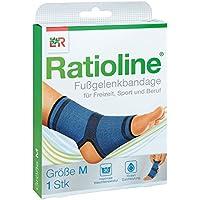 Ratioline active Fussgelenkbandage Größe m 1 stk preisvergleich bei billige-tabletten.eu