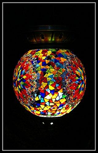 Mosaic Lamp Ceiling Lamp XL Oriental Lamp Shade Ceiling Light Samarkand Multi-Color Lights