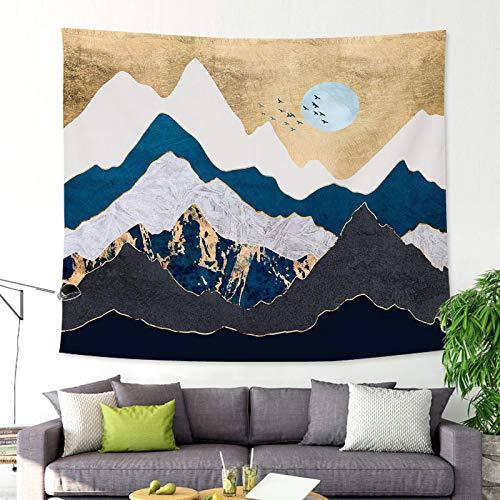 mmzki Landschaftsmalerei Landschaft Tapisserie Wandbehang hängen GT-CX022 200x150