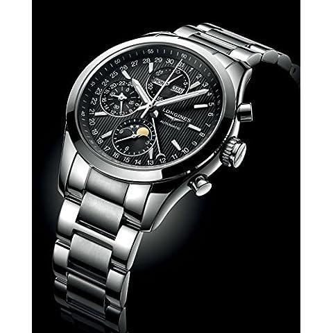 Para hombre Longines Classic Conquest Reloj cronógrafo 42mm l27984526