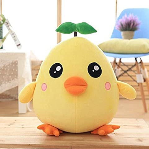 edealing(TM) 11.8 Inch Yellow Chicks Stuffed Plush Animals Plush Toys Doll For Kids -Yellow