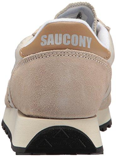 Saucony Damen Jazz Original Vintage Sneaker, Giallo/Bianco, 37 EU Grau (C E M/tan 26)