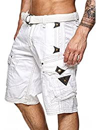 Short Perle homme Geographical Norway Blanc M