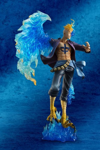 Megahouse One Piece Portrait of Pirates: Marco The Phoenix Excellent Model MAS PVC Figure 5