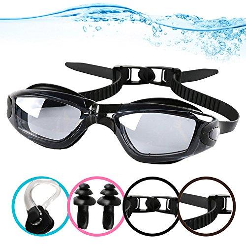 6db3ea4ca50 YINGNEW Anti Fog Clear Swimming Goggles Triathlon + UV Protection