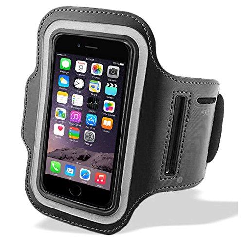 World Qualität iphone 5Armbinden, kaufen 1get 1gratis 5/5S/5C ipod touch 5Sporthülle Gurtband Band Sleeve Schutzhülle Tasche Schlüssel Halterung für Running Joggen Gym Radfahren Workout (Ipod Running Sleeve)