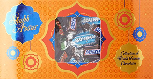 Snickers Mars Bounty Chocolates Mixed Miniatures Gift Pack, 150g
