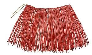 Boland-Rafia Falda Hawaii, Color Rojo, 52232