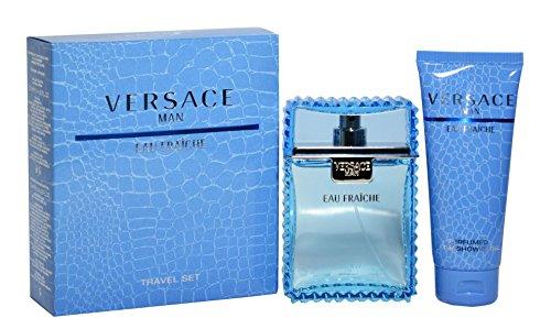 Versace Man Eau Fraiche Geschenkset 100ml EDT + 100ml Bad- und Duschgel