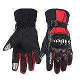 Gants LKN pour moto, des doigts chauds en automne et hiver, gants d'écran tactile - Noir