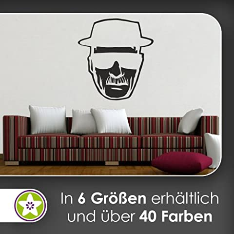Methyl Amphetamin Wall Stickers Wall Stickers Wall Sticker available in 6Sizes, 40_violett, 96 x 89 cm