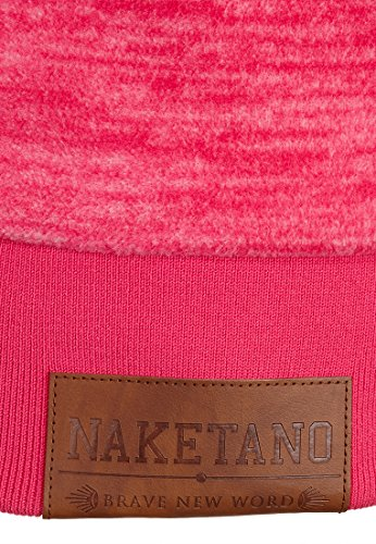 Naketano Female Hoody Dirty Bitch Yeah III Raspberry Melange