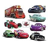 Stickersnews-Brett autocollantsx Sticker Kinder Disney Cars 32 x 26 cm