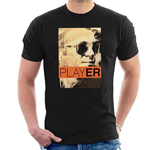 Steve McQueen 1965 Player Poster Sepia Men's T-Shirt